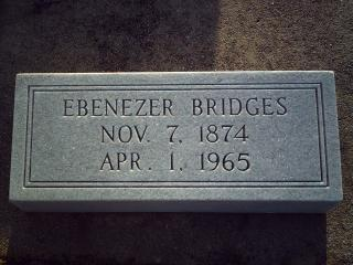 Bridges, Ebenezer