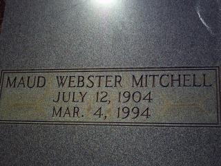 Mitchell, Maud Webster